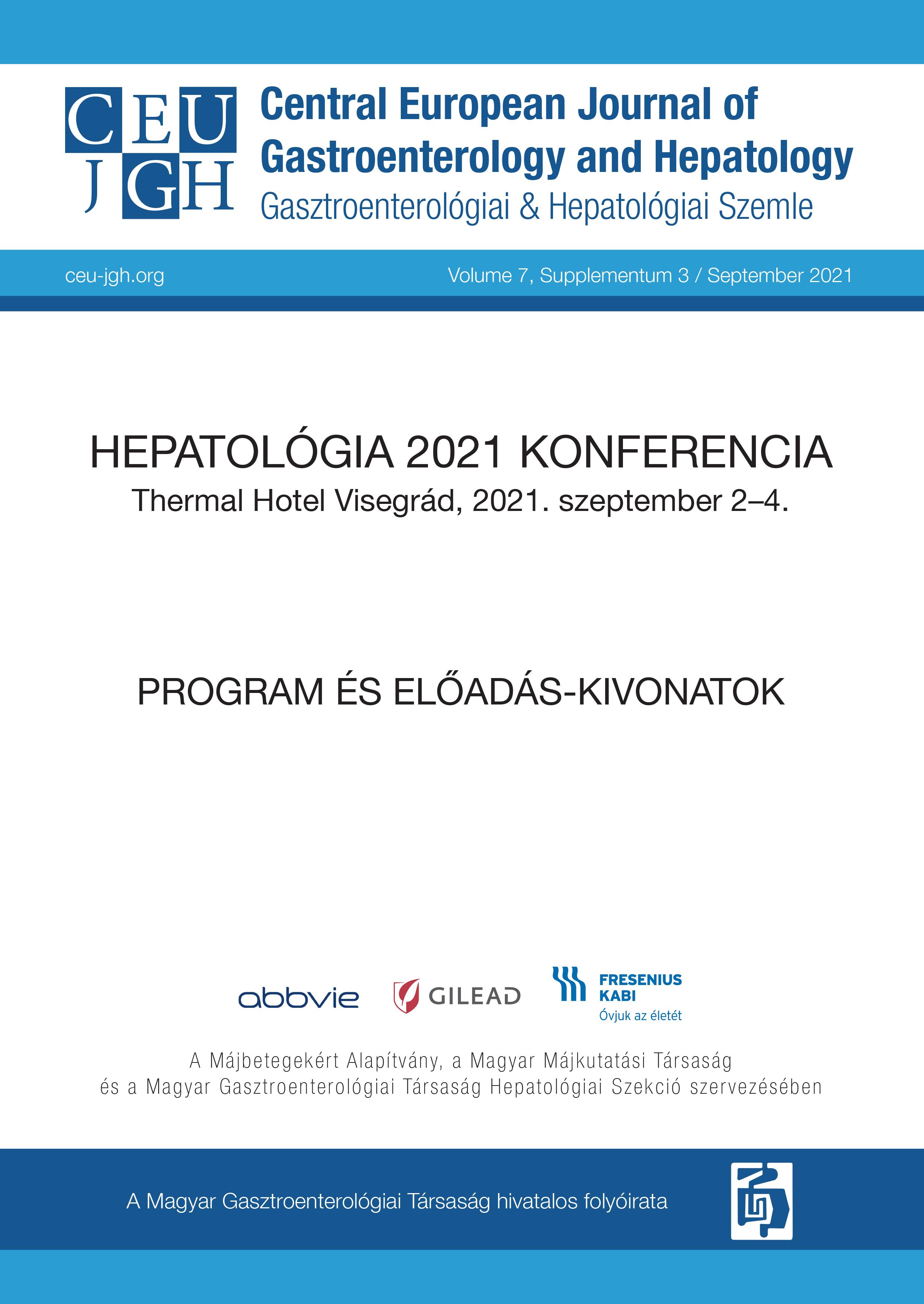 Hepatológia 2021 Programfüzet